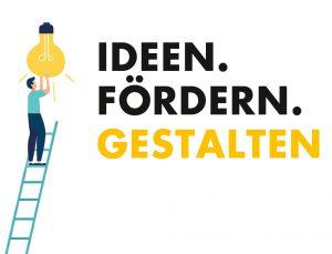 Logo Ideen. Fördern. Gestalten.